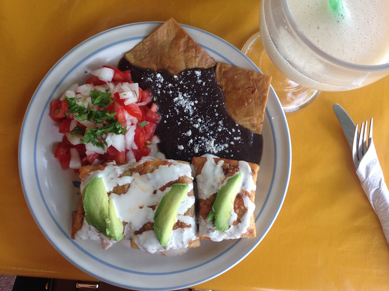 Mexican food - chimmichanga