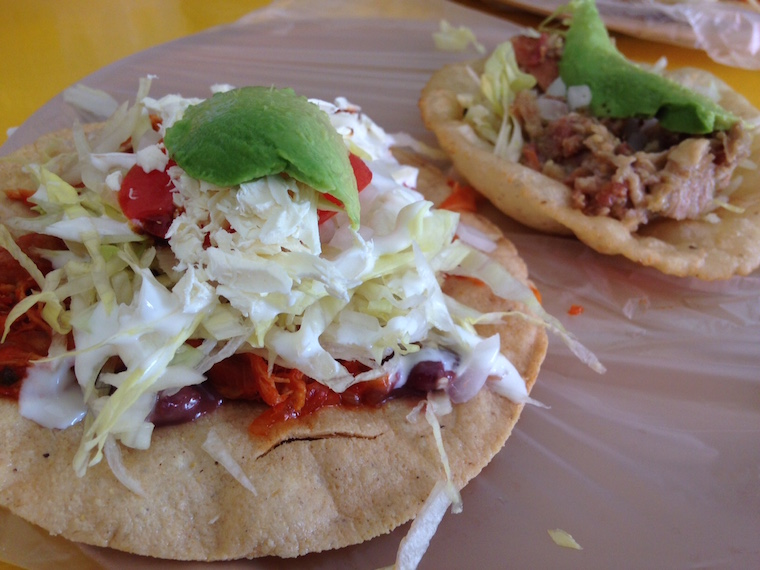 salbute and tostada